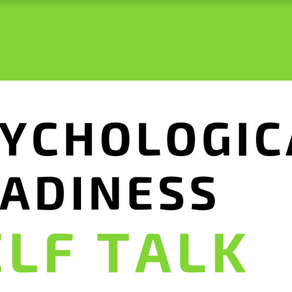 Psychological Readiness Self Talk by Chenelle Barber (2 min read)