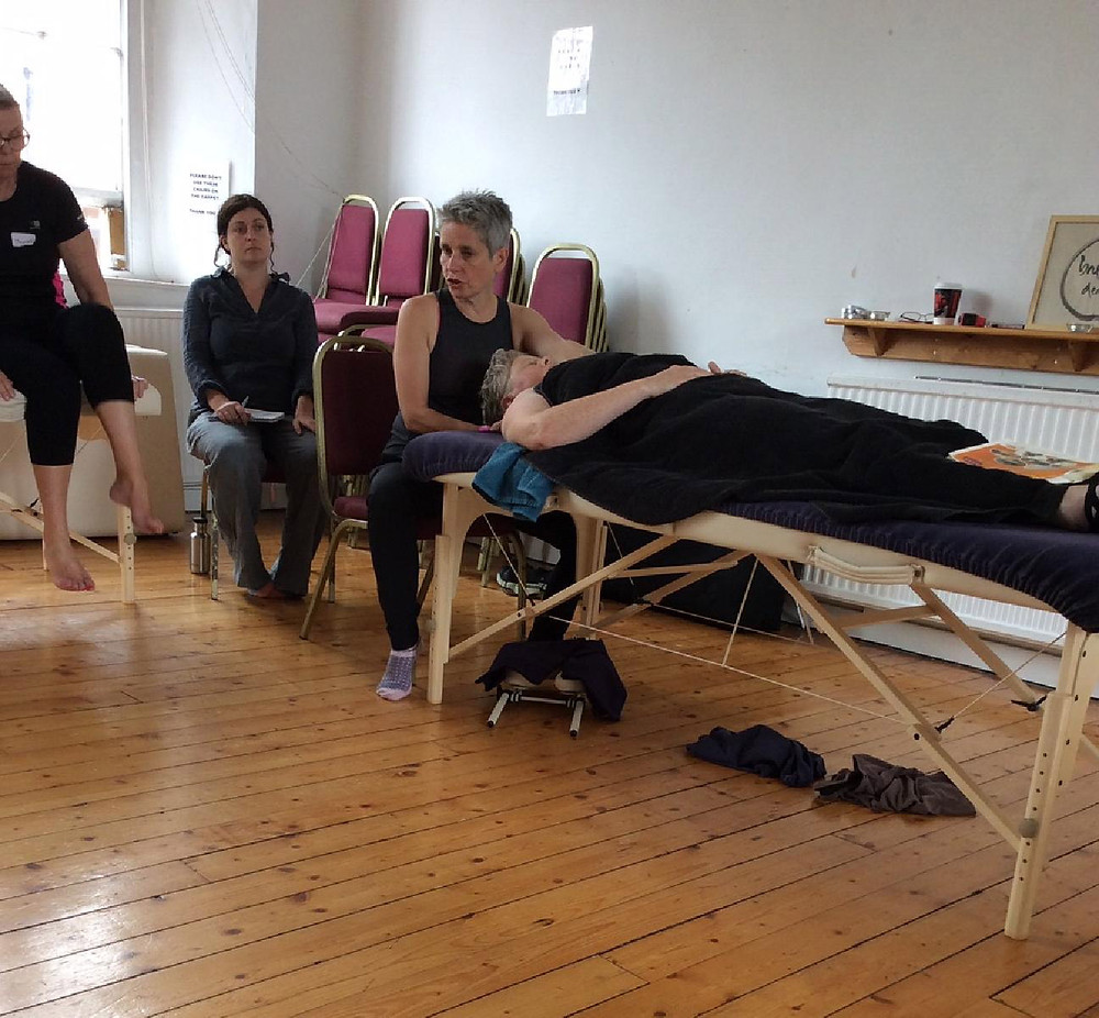 Annabel attends course in MFR for fibromyalgia