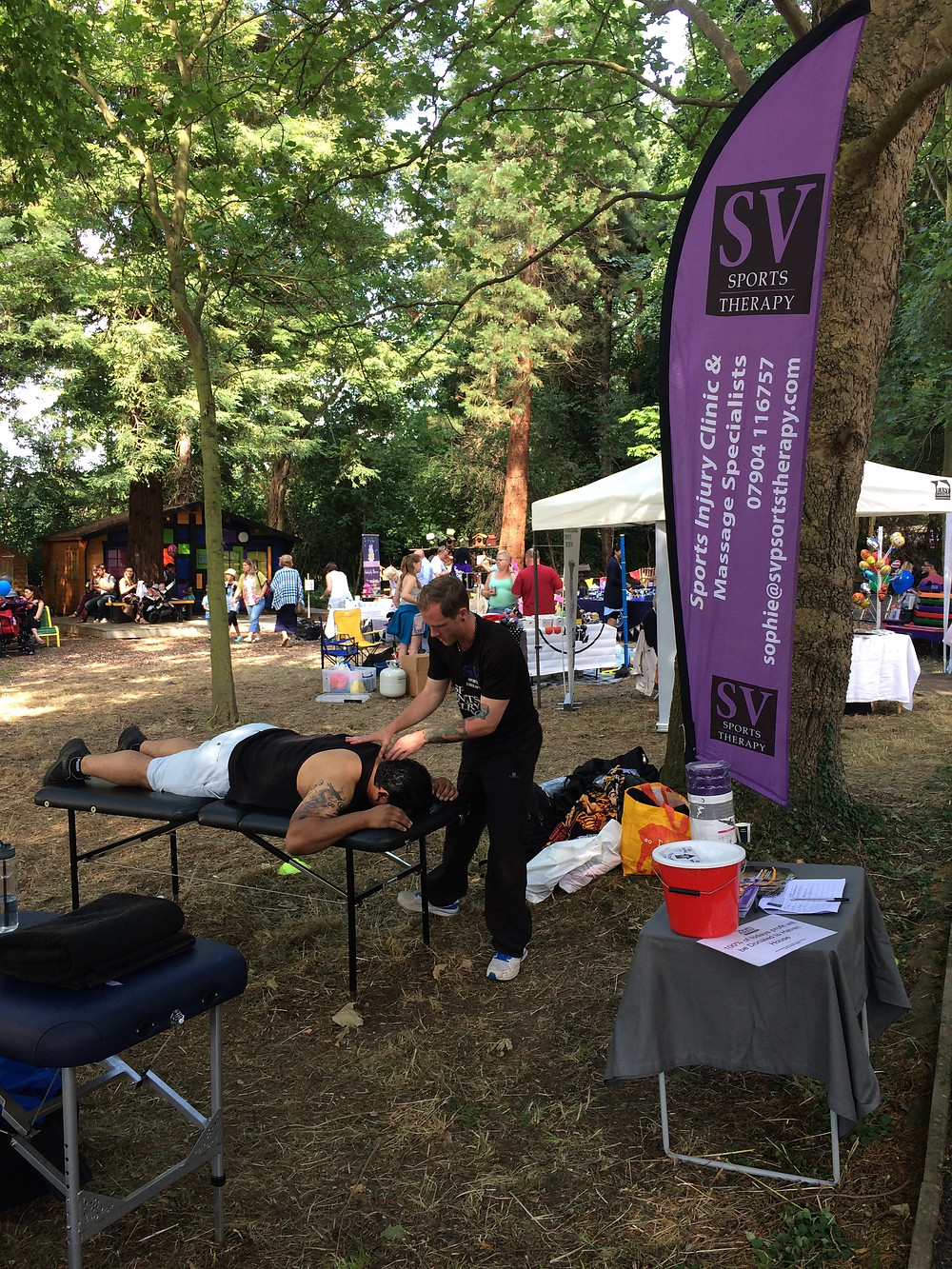 SV Sports Therapy attends Haven House Summer Fair