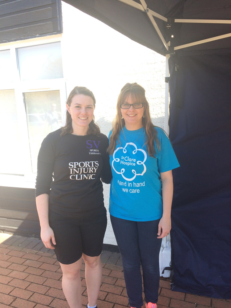 SV Sports Therapy attends St Clare Hospice 10k