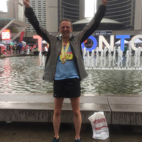 SV client, Steve Jack, completes Toronto Waterfront Marathon