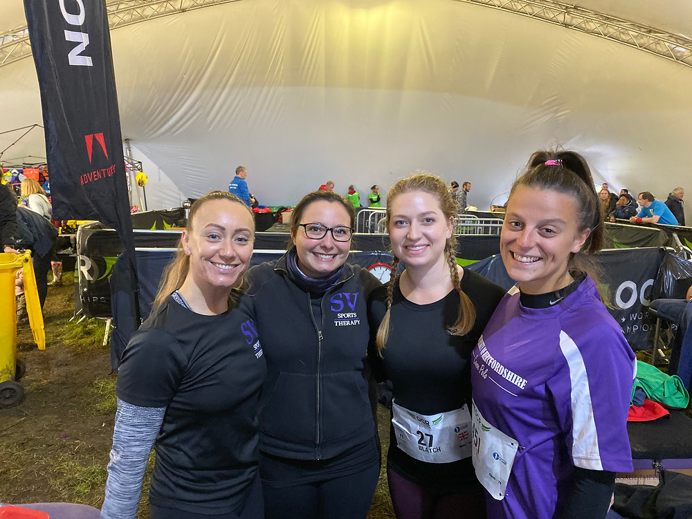 SV supports 2019 OCR World Championships with team of 41 sports therapists
