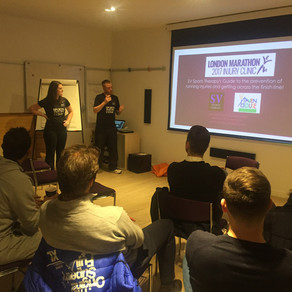 SV attend Haven House London Marathon welcome meeting