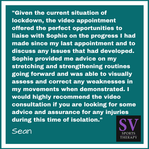 """The video appointment offered the perfect opportunities to liaise with Sophie on the progress"