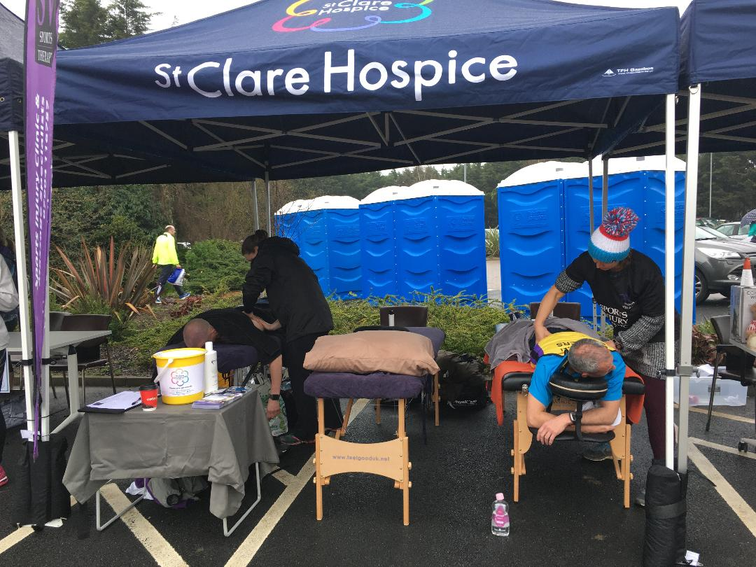 SV Events Team at St Clare Hospice 10k