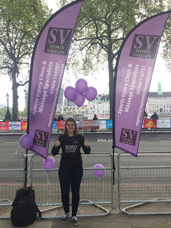 Jess at 2017 London Marathon