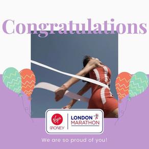 London Marathon YOU DID IT!