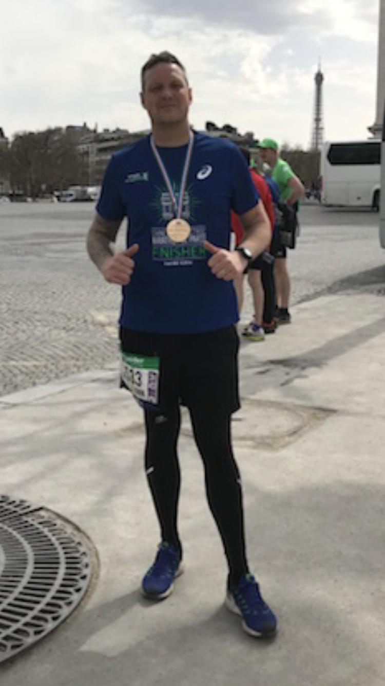 SV client James Nicholson is running three marathons in 14 days