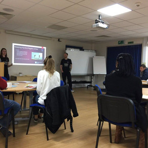 SV attends London Marathon advice evening at Saint Francis Hospice