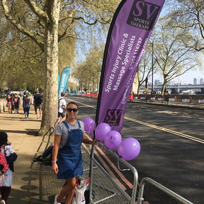 """""""The London Marathon is my favourite day of the year"""" - Sophie Vowden, SV Sports Therapy"""