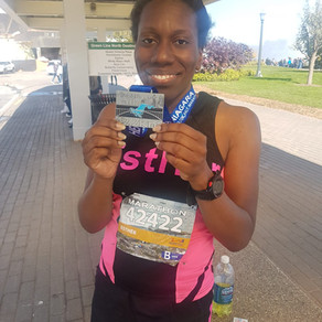 Well done to SV client Esther Campbell on completing the Niagara Falls Marathon!