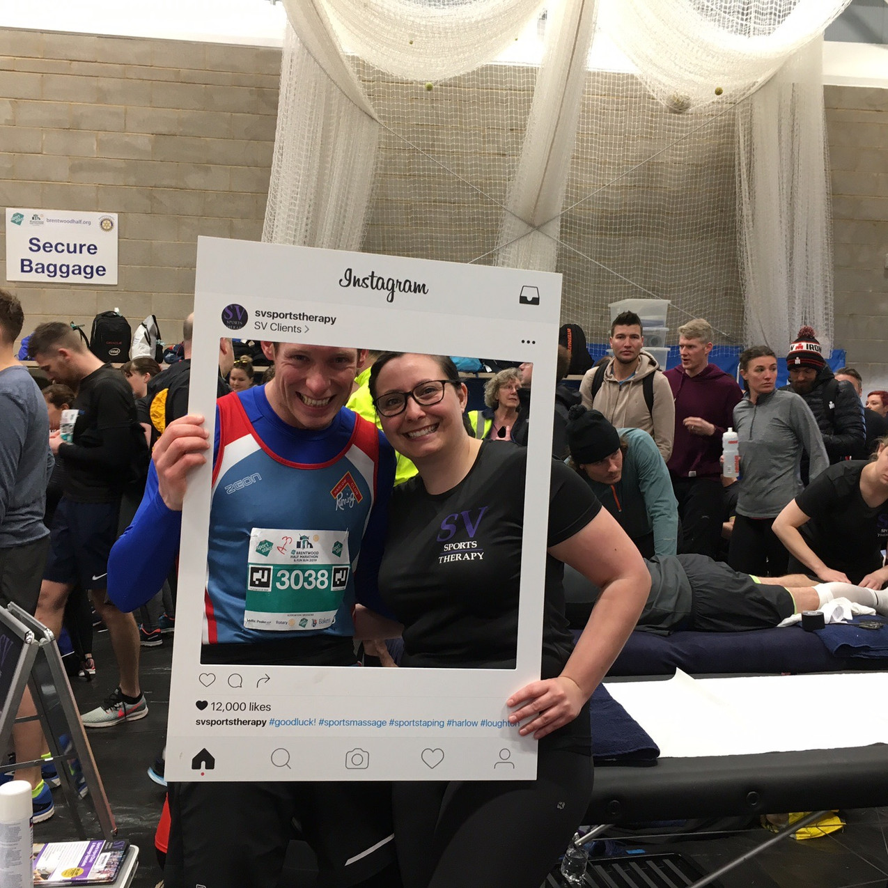 SV Sports Therapy attends Brentwood Half