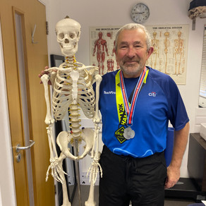 Congratulations to Peter Pendle on completing two 10k races