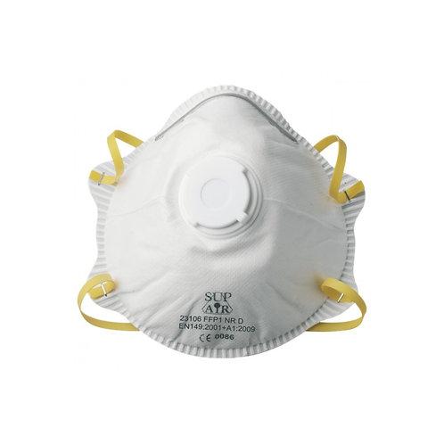 Masque coque FFP1 valve bte de 10 (23106)