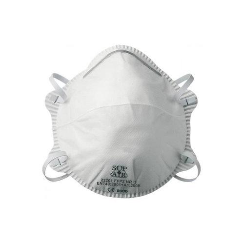 Masque coque FFP2 SL valve supa (Boite de 20)