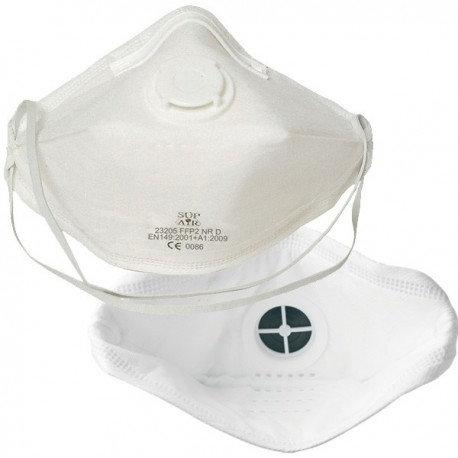 Masque FFP2 SL Sup air code 23205 pliable valve Bte de 20