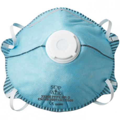 Masque FFP2 NR D SL-GA (charbon) 23246