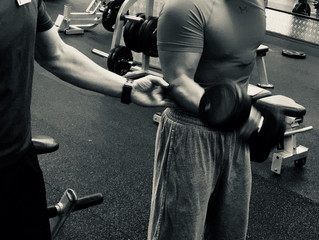 Why bicep curls helps guys lose weight?
