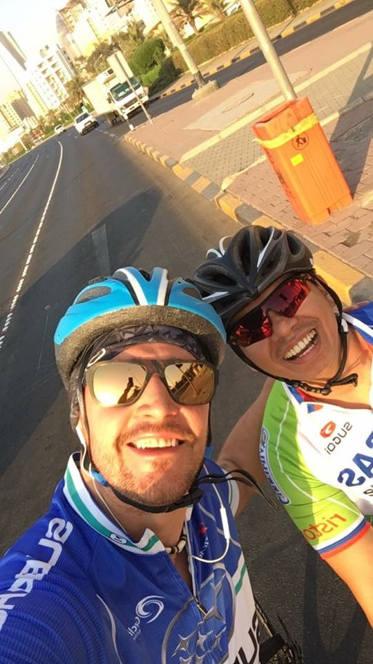Me and Pal Cycling Session