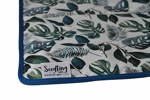 Seedling Baby Home and Go Mat (Tropical Jade)