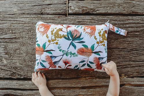 Seedling Baby Home and Go Mat (Native Blush)