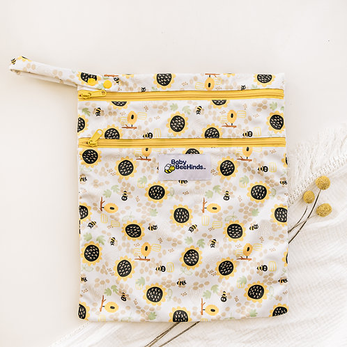 Baby Beehinds Double Pocket Wetbag (Bee Mine)