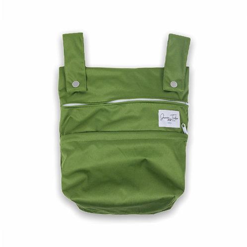 NEW Junior Tribe Co   Mini Wet Bag (Olive Green)