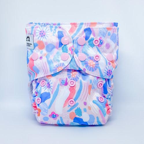 Cloth & Crown Pocket Nappy (Pastel Parade)