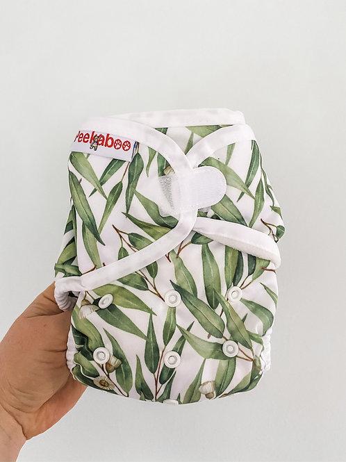 Peekaboo All-In-One OSFM Nappy (Eucalyptus)