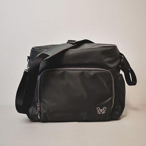 Alcmena   3 in 1 Convertible Nappy Backpack   Grey/Chamberpot of Secrets