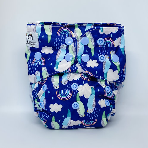 Cloth & Crown Pocket Nappy (Budgie Snugglers)