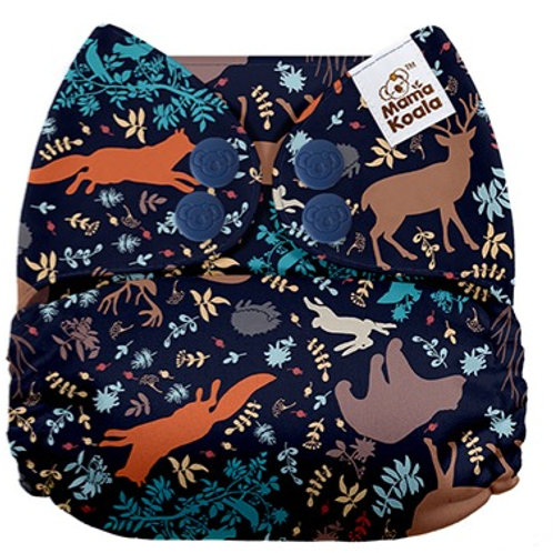 NEW Mama Koala Pocket Nappy (Midnight forest)