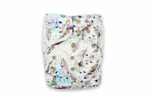 NEW Junior Tribe Co | Flex Cloth Nappy (Unicorn Dreaming)