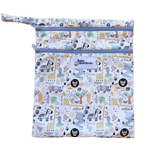 Baby Beehinds Double Pocket Wetbag (Wild Thing)