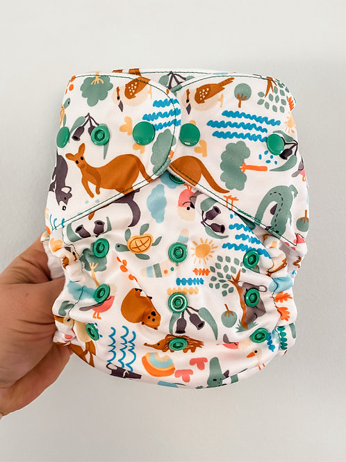 Baby BeeHinds Magicall Multi-Fit Pocket Nappy (Bush Buddies)