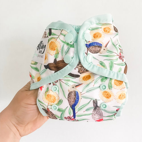 Mini-fit Pocket Nappy (Icon Green)