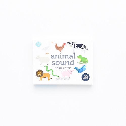 Animal Sounds Flash Cards