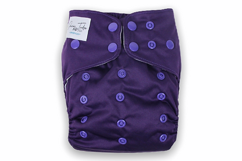 NEW Bottoms Up Junior Flex Cloth Nappy (Amethyst)
