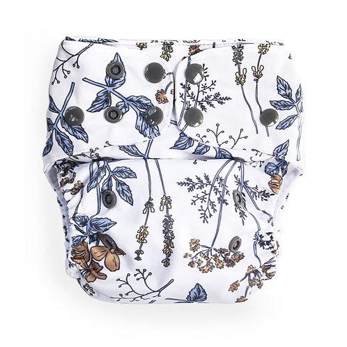 Econaps OSFM cloth nappy (Vintage Botanical)