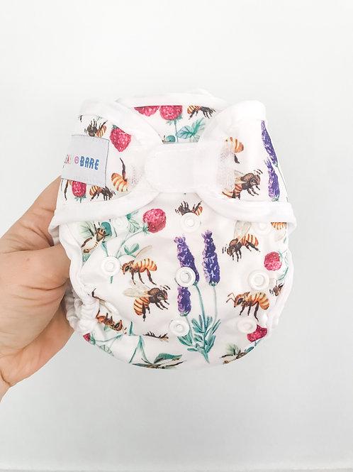 Baby Bare Newborn Honey Wrap Cover (Bee Mine)