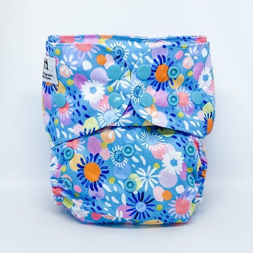 Cloth & Crown Pocket Nappy (Floralfetti)