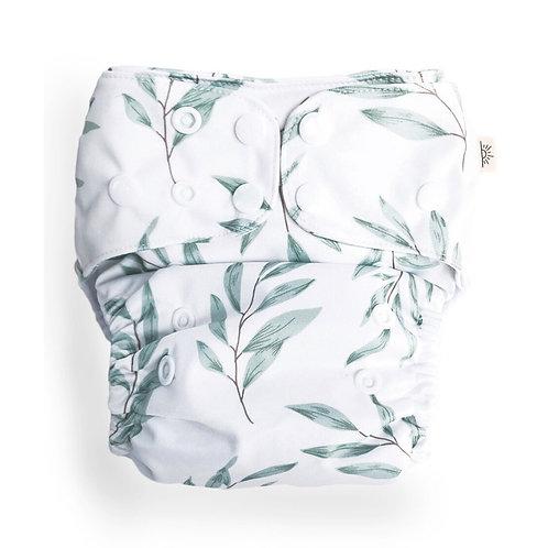 Econaps OSFM cloth nappy (Olive Leaf)