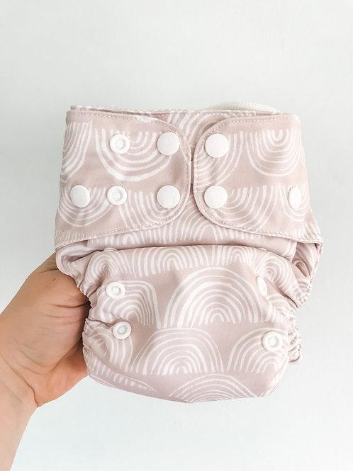 Econaps OSFM cloth nappy (Rainbow Dreaming)