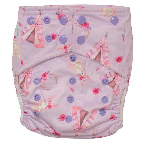 Boho Babes Pocket Nappy (Boho Bunnies)