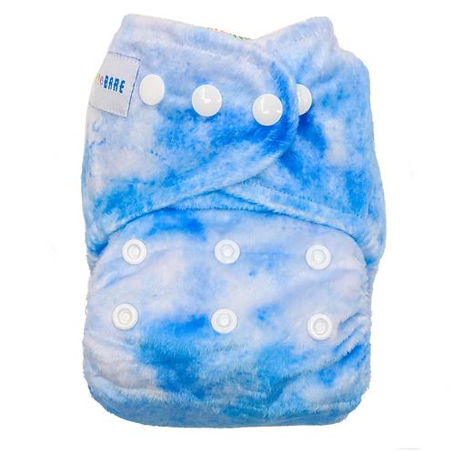 Baby Bare AI2 Nappy (Blueberry Slushie Minky)