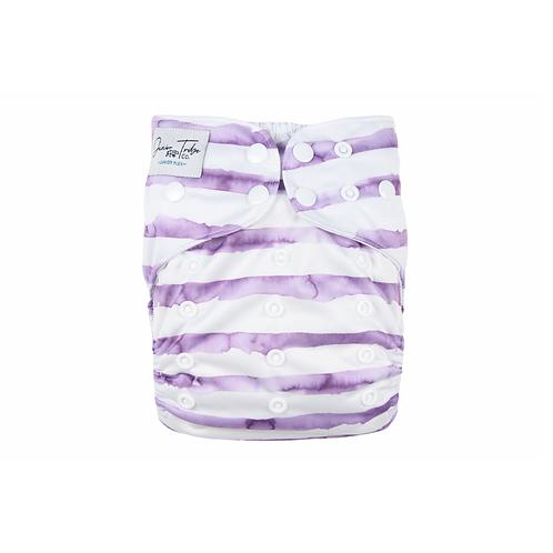 NEW Junior Tribe Co   Flex Cloth Nappy (Purple Frenchie)