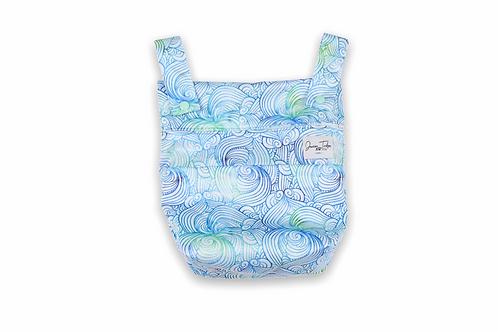 NEW Junior Tribe Co | Mini Wet Bag (Sea Swirl)