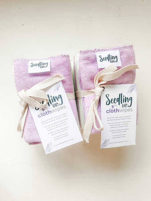 Seedling Cloth Wipes (6 Pack)