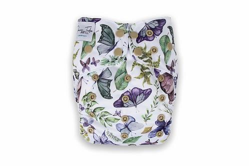 NEW Bottoms Up Junior Flex Cloth Nappy (Flutterfly)