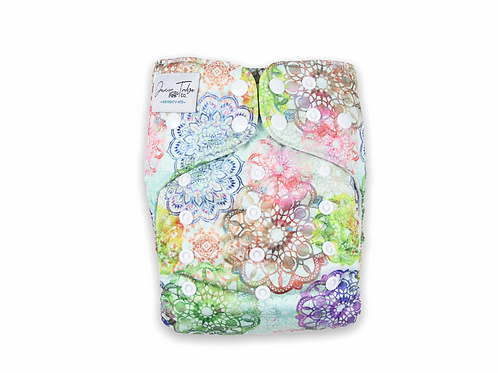 NEW Junior Tribe Co | Flex Cloth Nappy (Loveable Lace)